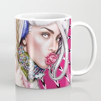 artrave Mugs featuring artRAVE by Denda Reloaded