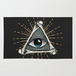 All seeing eye of God Rug