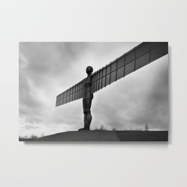 Angel of the North, Newcastle, England. Metal Print