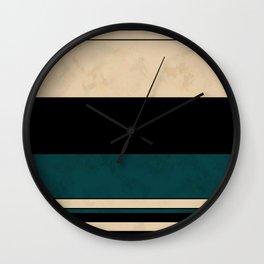Geometric pattern 12 Wall Clock