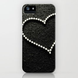 Buckyball heart. iPhone Case