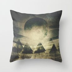 We are children of the moon Throw Pillow