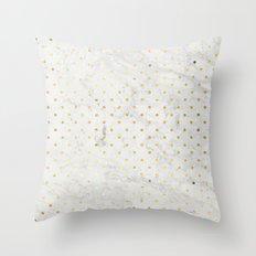 gOld pOis Throw Pillow