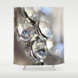 Sparkle - JUSTART ©, macro photography. Shower Curtain