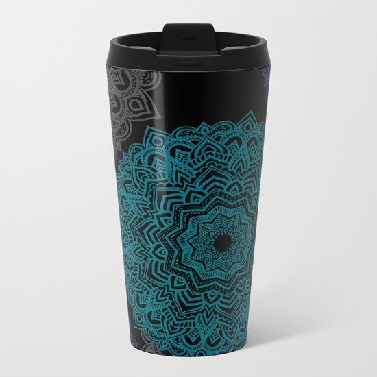 My Spirit Mandhala | Secret Geometry Metal Travel Mug