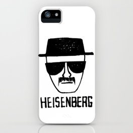 Heisenberg - Breaking Bad Sketch iPhone Case
