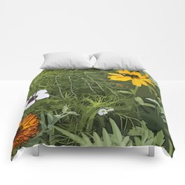 Wild Flowebed 6 Comforters