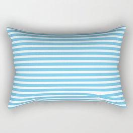 Stripes - Baby Blue Rectangular Pillow