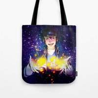 ace attorney Tote Bags featuring Clay Terran-Ace attorney Duel Destinies by Kiasherria