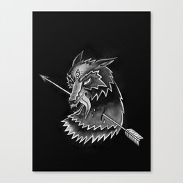 Steppen Wolf Canvas Print