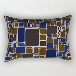 Abstract geometric pattern.2 Rectangular Pillow