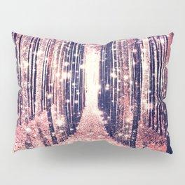 Millennial Pink Magical Forest Pillow Sham