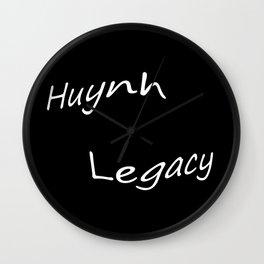 Huynh Legacy (Inverted) Wall Clock