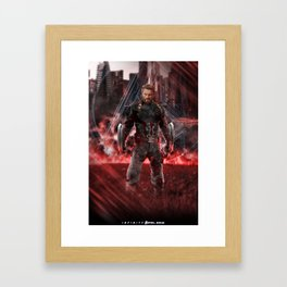 Infinity war ready: Nomad Framed Art Print