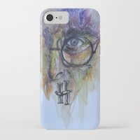 harry potter iPhone & iPod Cases featuring POTTER by Frageroux