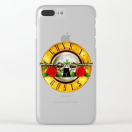New Guns n roses Clear iPhone Case