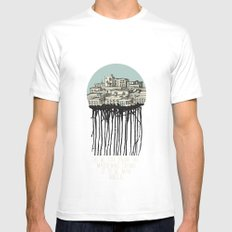Primary City Mens Fitted Tee White MEDIUM