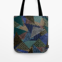 Pantern Mania Collage Tote Bag