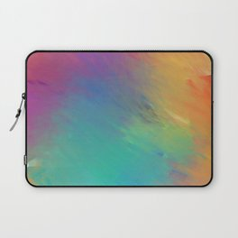 colorful hand drawn abstract Laptop Sleeve