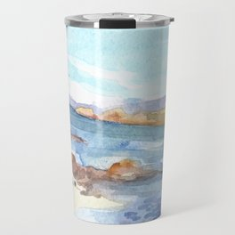 Sound of Iona from the Argyll Hotel Travel Mug