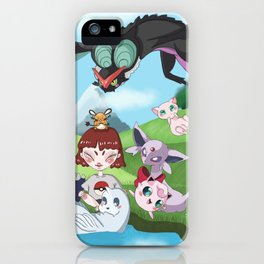 pokefriend iPhone Case