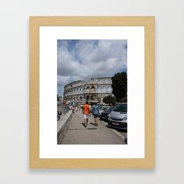 amphitheatre Framed Art Print