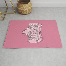 Paws Off Rug