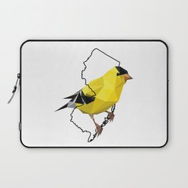 New Jersey – American Goldfinch Laptop Sleeve