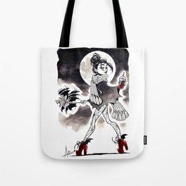 Casual Vampire Tote Bag