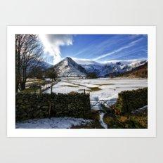 The Lake District Art Print