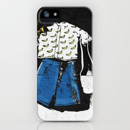 Casual Hipster Outfit iPhone Case