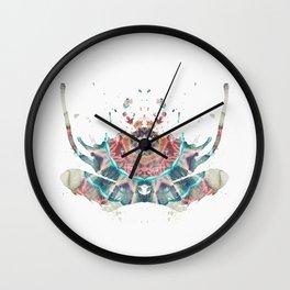 Inkdala XII (Rorschach) Wall Clock