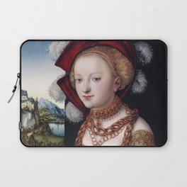 Lucas Cranach l'Ancien - Salome with the Head of Saint John the Baptist 1530 Laptop Sleeve