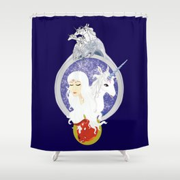 For you are the last Shower Curtain