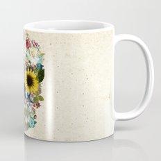 Skull flower Mug