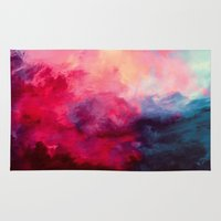 large Area & Throw Rugs featuring Reassurance by Caleb Troy