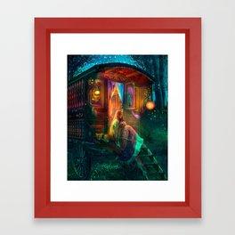 Gypsy Firefly Framed Art Print