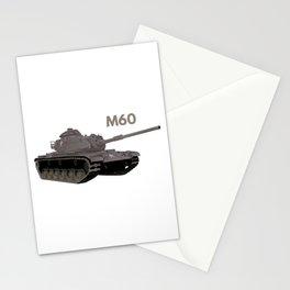 M60 American Battle Tank Stationery Cards