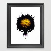 Zebes Framed Art Print