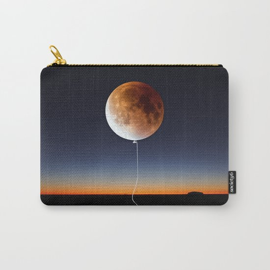 Red Balloon Moon Carry-All Pouch