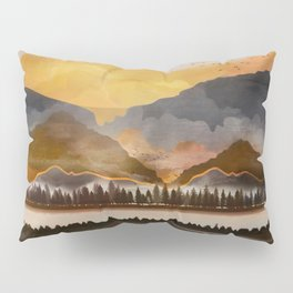 Pure Wilderness at Dusk Pillow Sham