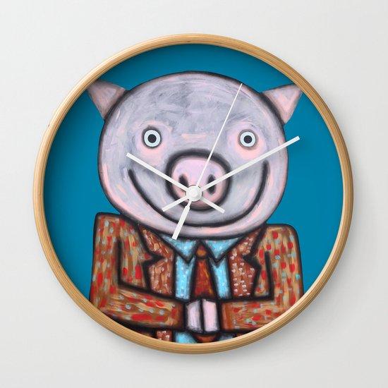 Mr.Mayor Wall Clock
