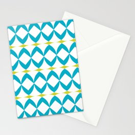 Poolside in Turquoise Stationery Cards