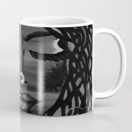 Focus by Lu, black-and-white Coffee Mug