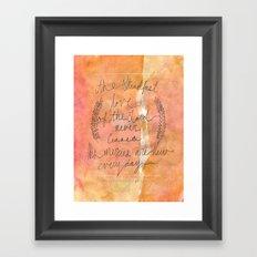 Great is thy Faithfulness Framed Art Print
