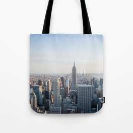 Towers - City Urban Landscape Photography Tote Bag