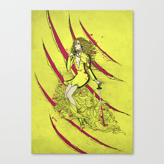 Dress To Kill Canvas Print