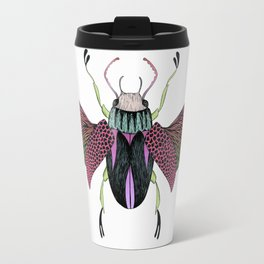 Beetle #4 Color Travel Mug