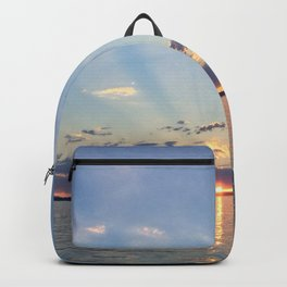 A Seattle Sunset Backpack