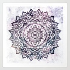 JEWEL MANDALA Art Print